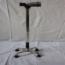 4 feet adjustable medical crutch disabled crutches Walking Stick