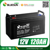 Lead Acid Free Maintenance Solar Panel Power Storage Battery 12v 120ah 150ah