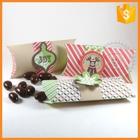 Foldable Recycled Color Pillow Paper Box