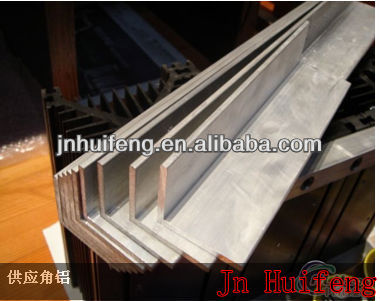 high quality aluminium extruded profiles L shape angle supplier