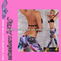 ML7638 Tirupur Wholesalers Galaxy Graphic Always Embroidery Leggings