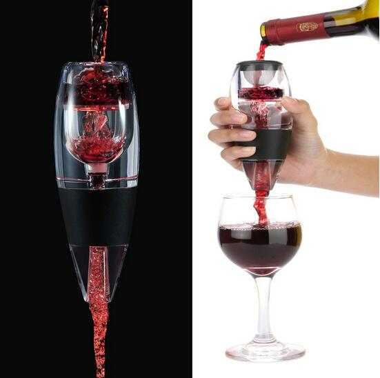 Reusable customized aerator decantor ,electronic wine aerator decantor ,crystal decanter