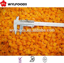 100% High Quality IQF Frozen pumpkin cut best price