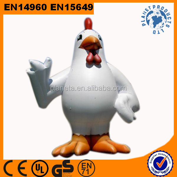 Top Quality Giant Inflatable Chicken For Advertising