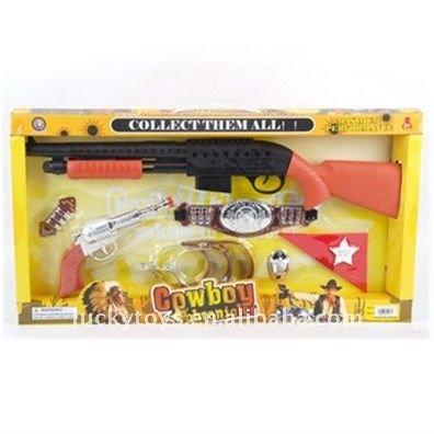 Plasticc cowboy set for kids