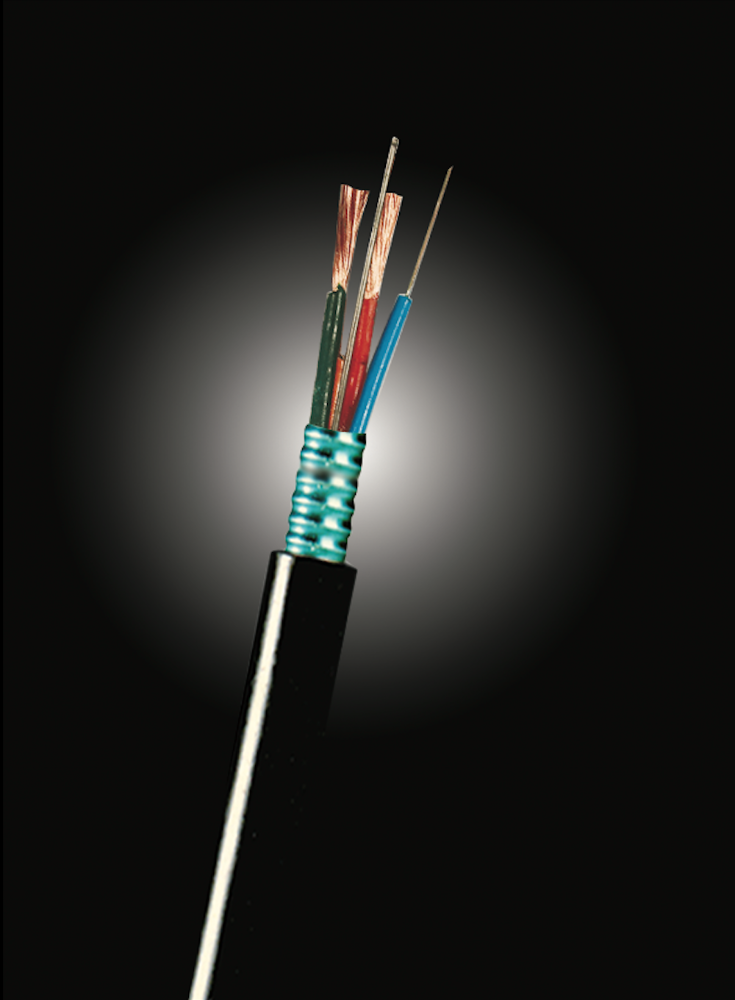 Optical fiber power composite cable GDTS/GYTA