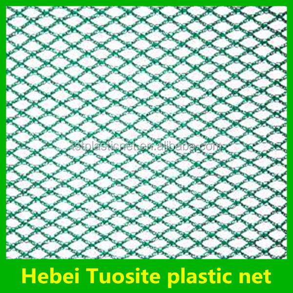 high quality hdpe knotless pe fish net