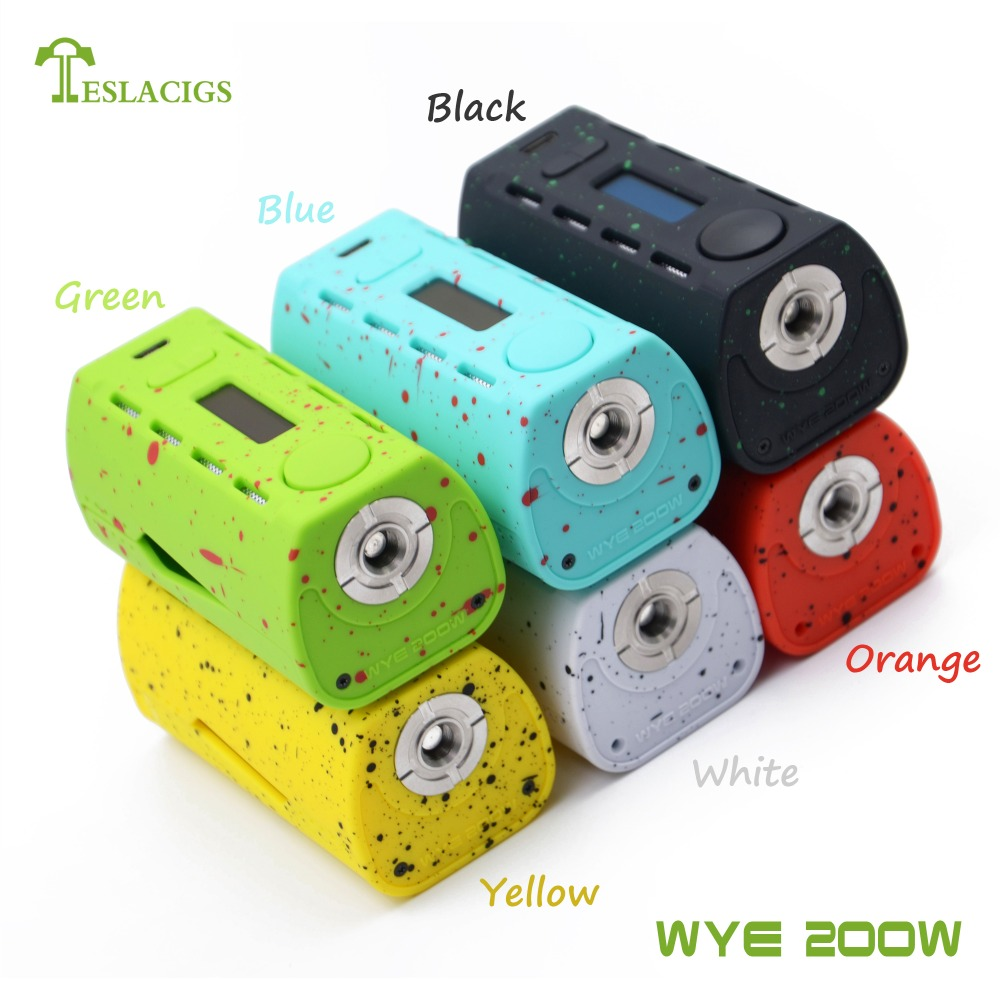 In stock and fast delivery, Teslacigs WYE 200W variable wattage mod factory supply