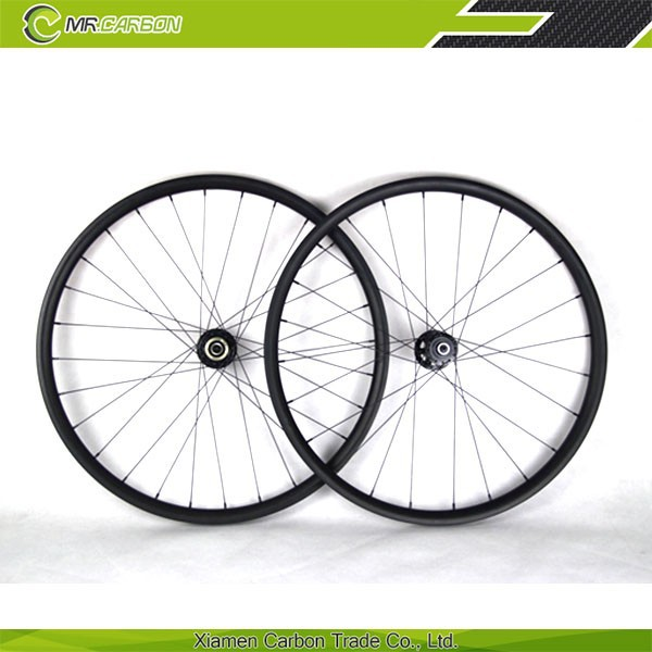 Full Toray T700 carbon 26 mtb wheels 3k/ud matte or glossy finish for mountain bike