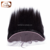 high quality soft remy full lace front closure 3 way part brazilian hair closure with baby hair