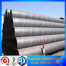 anticorrosion hdpe underground drainage pipe ssaw spiral steel pipe q235 spiral weld steel pipe