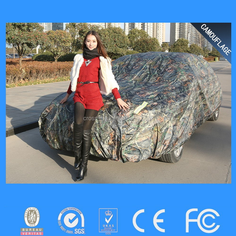 Alibaba best sale auto car cover with good quality padded car cover hail