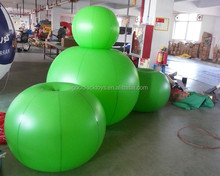 Advertising balloon, large apple helium balloon