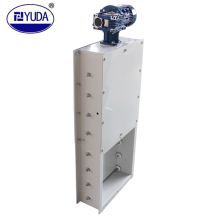 YUDA automatic electric slide gate valve