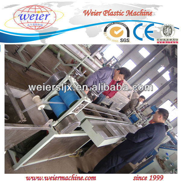 PP ribbon strap extrusion machine