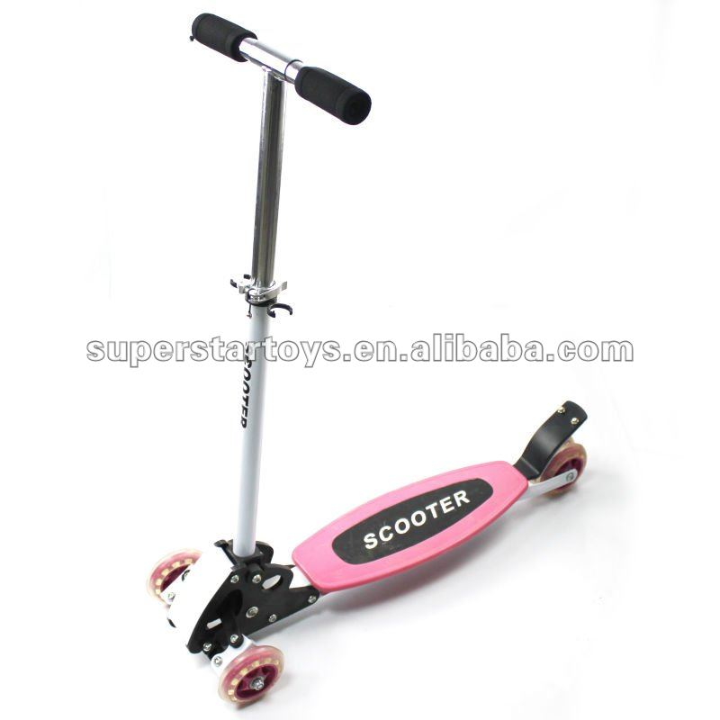 Kick Scooter, Made of iron and PP, PVC Wheel