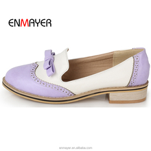 Factory wholesale sweet high quality PU vara bow laser lace free walking single shoes footwear