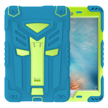 2018 China New kids silicone silicon smart cover case for ipad mini 2 3 4 5 air ipad2 pro 9.7 10.5 inch tech21