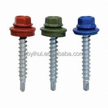DIN7504K slef-drilling screws with rubber washers