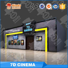 Outdoor big 7d cinema projector 5d simulator cinema theater equipment for sale