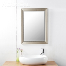 2017 new fancy smart living room mirror, glass bath mirrors price