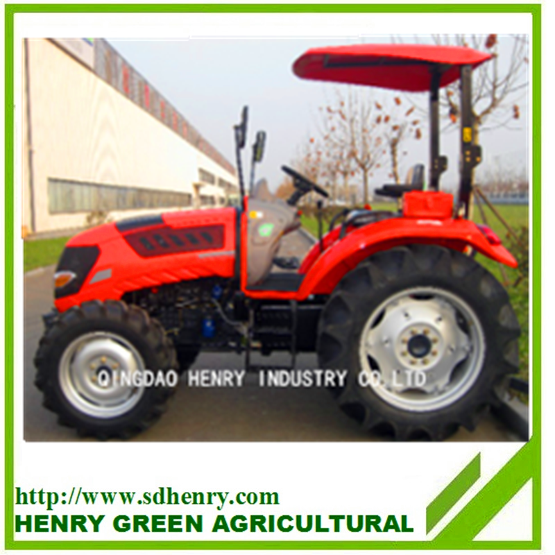 small garden tractor with front-end loader