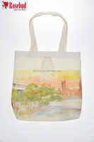 Customized Cotton Canvas Tote Bag Recycle Organic Cotton Tote Bags Wholesale