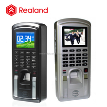 Realand M-F151 time attendance terminal and access control system with black silver color optional