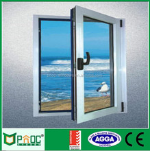 Aluminum Casement Window Price Philippines,Shopping European Standard Aluminium Casement Glass Veranda Window With Triple Glass