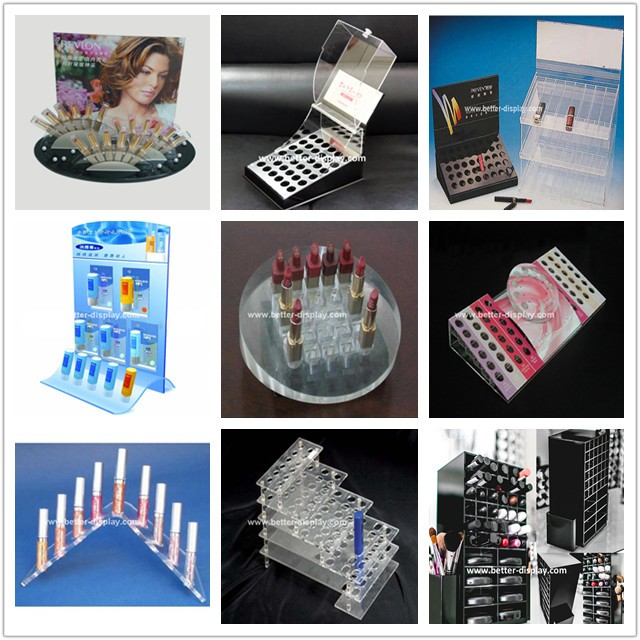 clear plexiglass 6 drawer acrylic makeup organizer