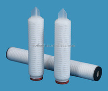 PTFE membrane element for gas purification