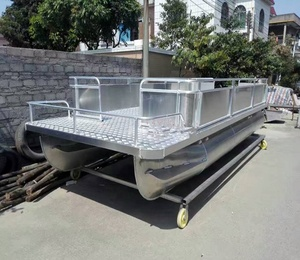 Simple Custom made Aluminum Pontoons