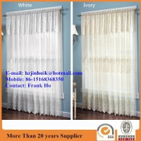 Sheer curtain Lace Valance & Drapery curtain Panel