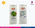 plastic flour packaging bag with hanging hole food packaging pouch