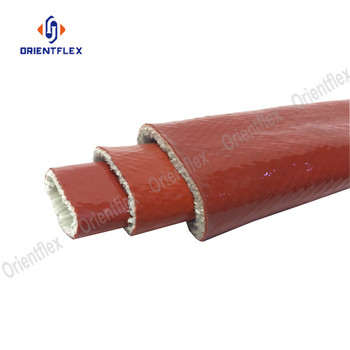 Fiberglass fire resistant heat insulation oil line protective high temp cable hose protector sleeve fireproof sleeves