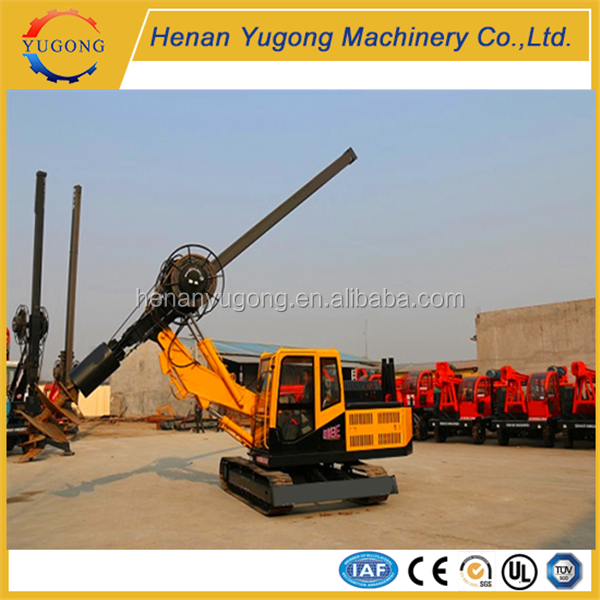 YG crawler rotary pile drilling rigs for sale rotary core drilling rig for soil drilling