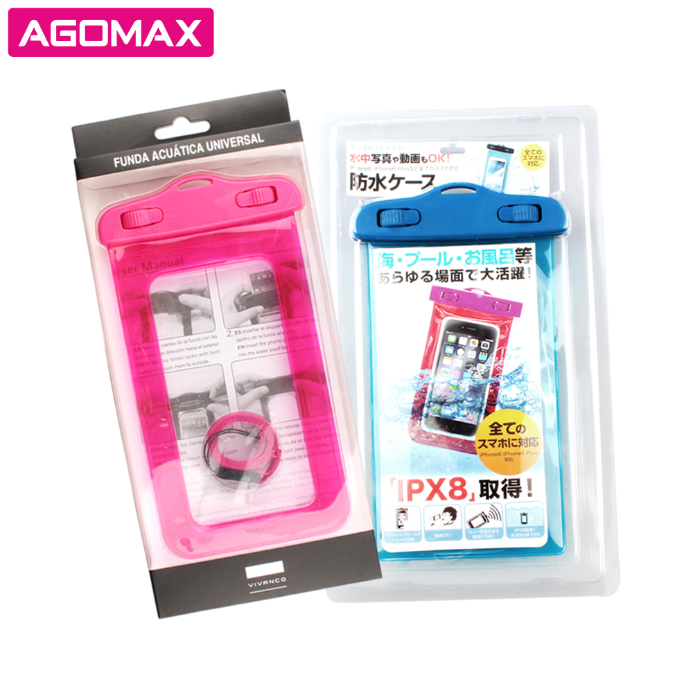 Cheap prices promotional PVC transparent waterproof camera case