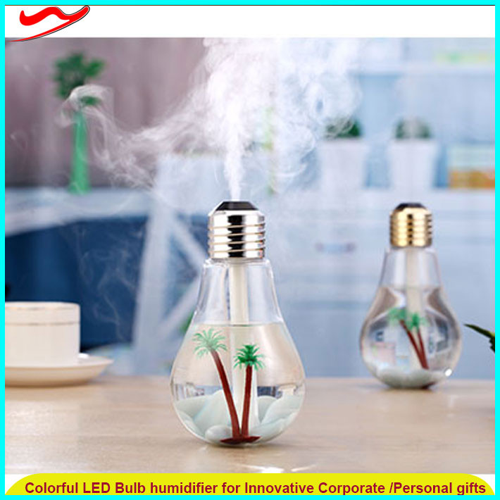 Ultrasonic electronic aroma diffuser/humidifier/led Night Lamp