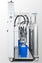 Automatic Insulating Glass Silicone Sealant Machine /Two Component Sealant Extruder