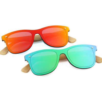 Wholesale Wooden Sunglasses UV400 wood bamboo carving best promotion gift sun glasses