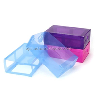 Cheap price china factory clear plastic shoe box