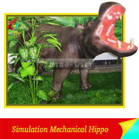 Realistic Animatronic Hippo For Sale