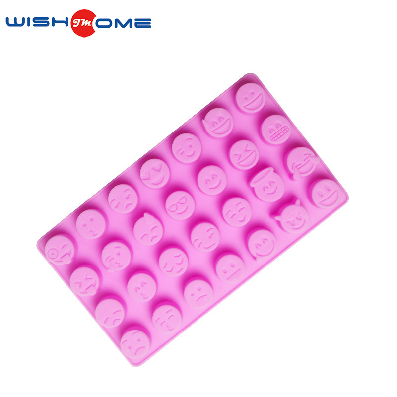 funny cute expression cake decorating silicone chocolate sugar paste mold paste silicone molds