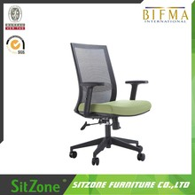 2016 ergonomic Medium net back reclining mesh staff executive office chair with PP armrest CH-179B