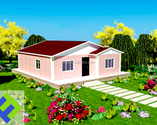 Most Popular Cheap Prefabricated Wood Frame Home