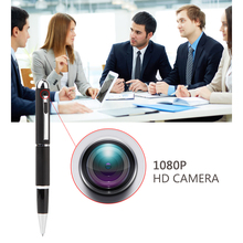 1080P HD Mini Portable DVR Hidden Camera Pen Multi-function Ball Point Pen Camera with Free 5 Black Refill and Night Vision