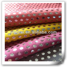 textile suede leather for shoes