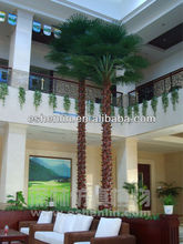 hot sale plastic palm tree kinds, fake palm trees, artificial decoration indoor/outdoor plants