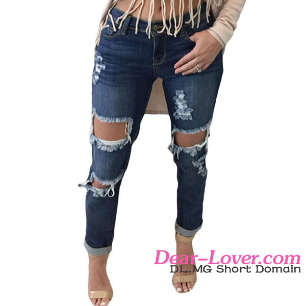 Contemporary distressed sex lady jeans sex women jeans pants pictures