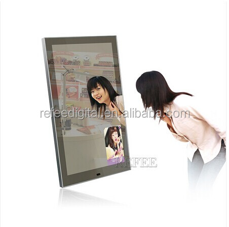 55inch Clothing store lcd screen displays mirror , magic mirror display <strong>advertising</strong>